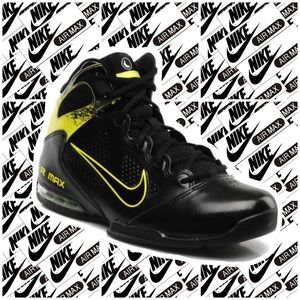 NIKE Air Max Full Court 2 Men's Sz 14 Black/Yellow